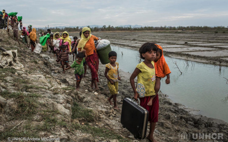 国連UNHCR協会主催 国連難民支援キャンペーン