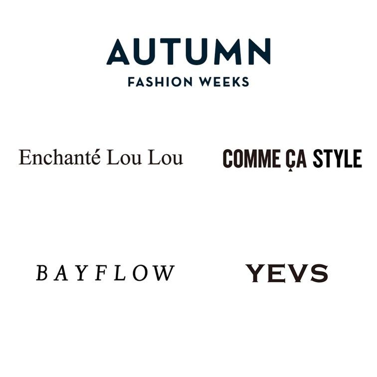 秋のコーディネイト ファッショントークショー