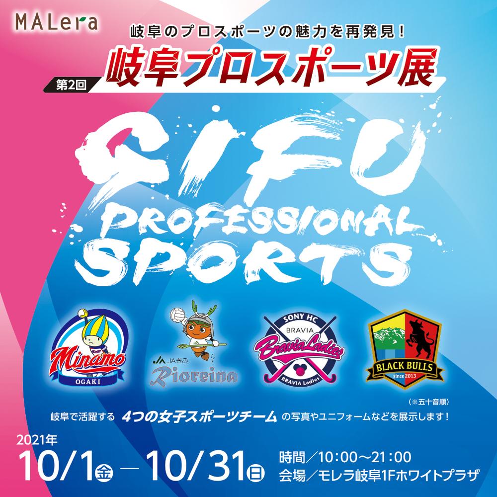 第2回 岐阜プロスポーツ展